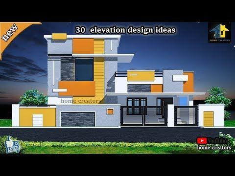 30 Budget House Front Elevation Design Simple Elevation Ideas 2019 Youtube Front Elevation Designs Front Elevation House Front Design