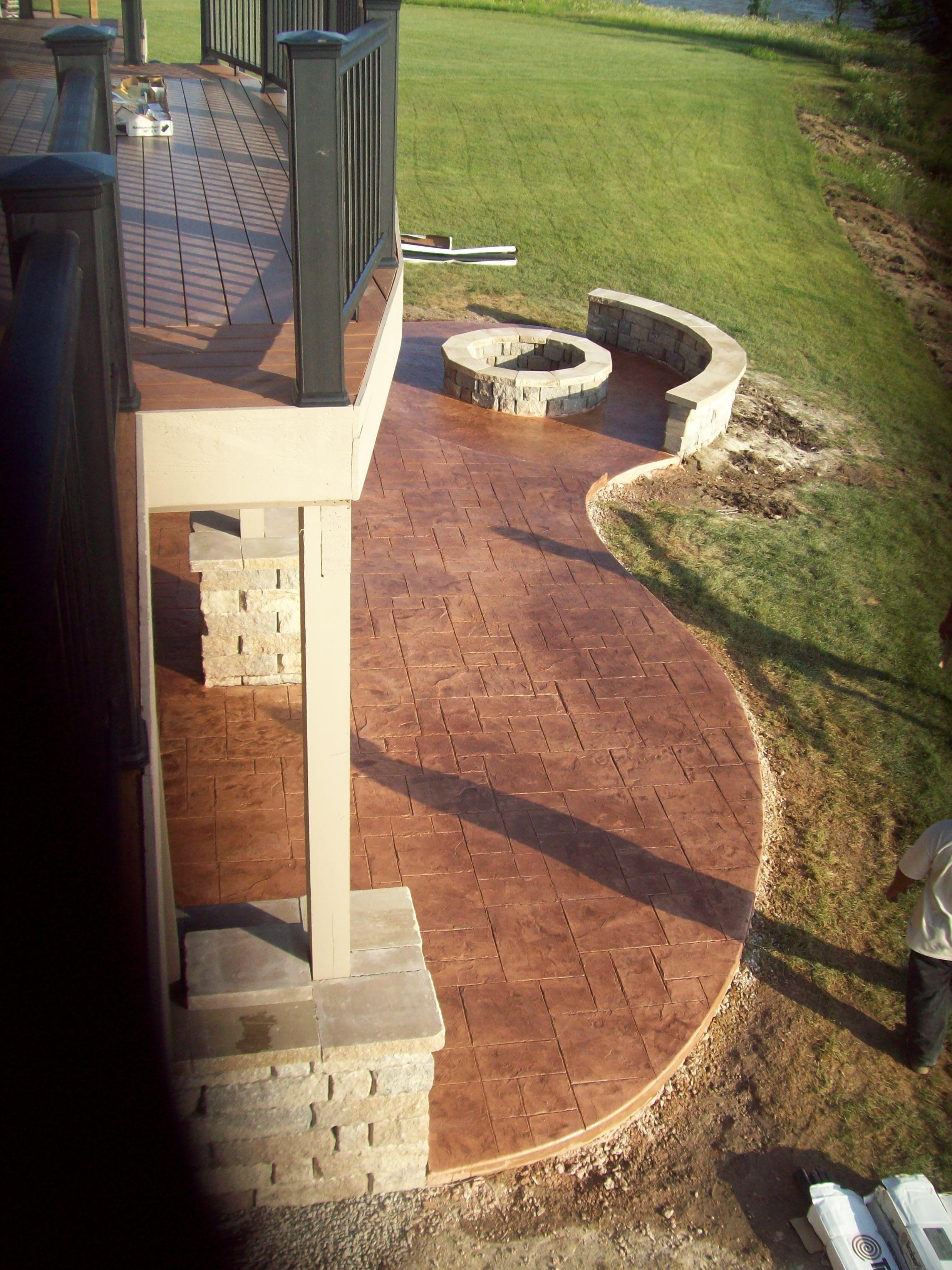 KC Backyards   Decorative Concrete, Decks, Outdoor Living Areas