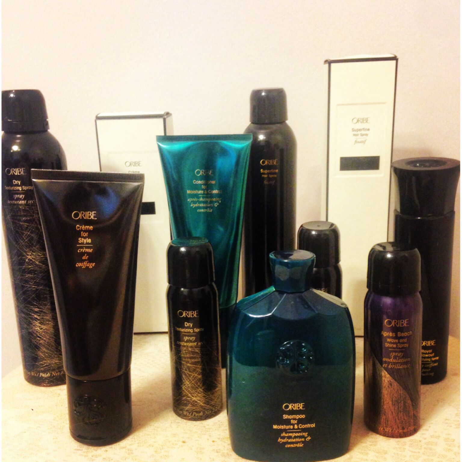 Oribe products. The best hair products. BloHaute