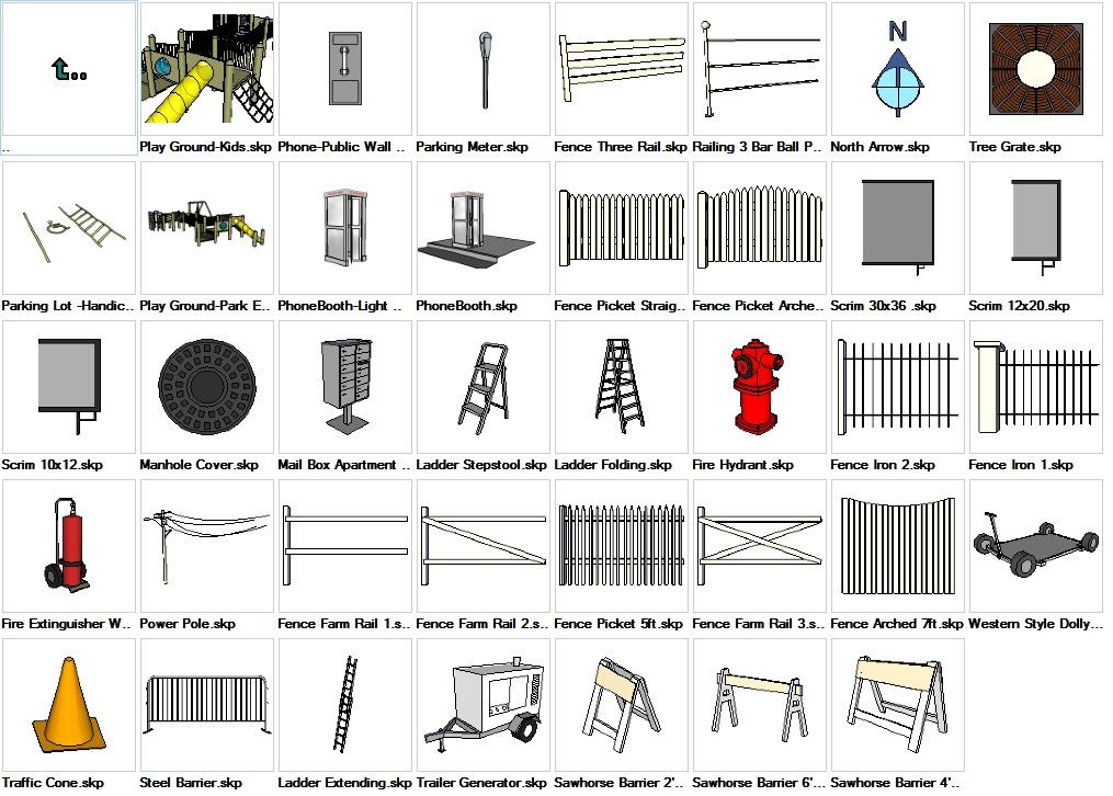 Sketchup Built Construction 3d Models Download Sketchup Models