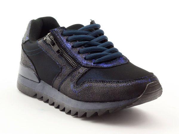 Sportowe Damskie Mcarthur 02 Nv Granatowe Czarne Wielokolorowe Shoes Sneakers Fashion