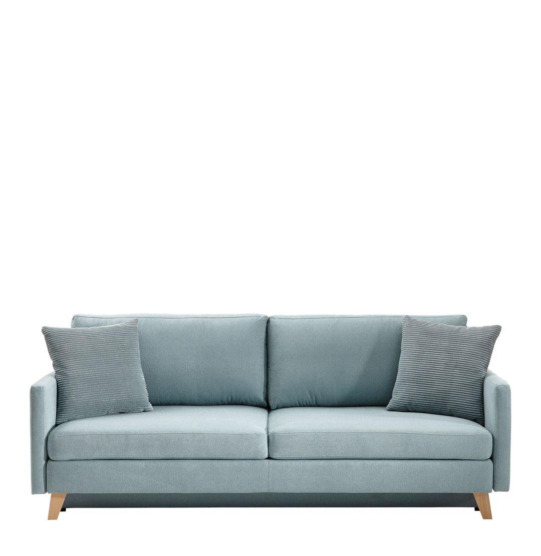 Schlafsofa Blau schlafsofa mendoza blau naturfarben konventionell textil 222 70
