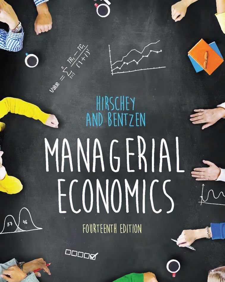 Managerial Economics 14th Edition 14E by Mark Hirschey PDF eBook ...
