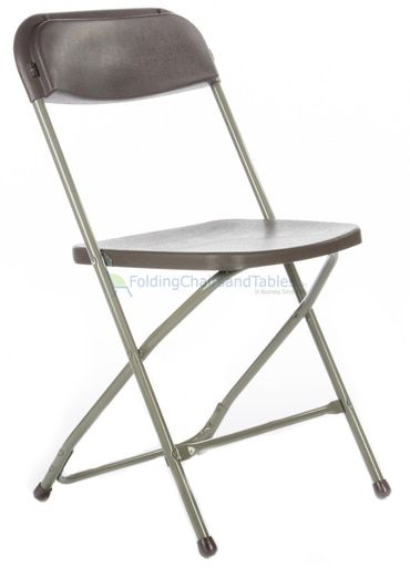Titan Plastic Folding Chair Premium Rental Style 730lb Capacity