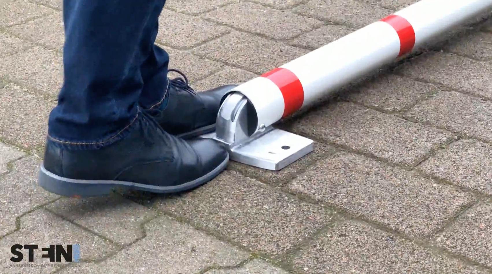 """selbstaufrichtende parkplatzsperre """"acero""""! #parkplatzsperre"""