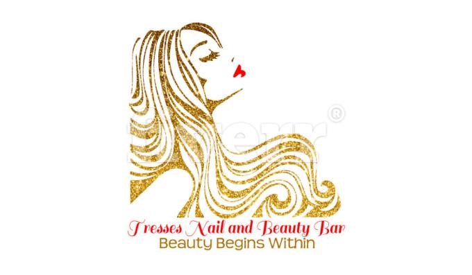 Thank You So Much Hair Logo Aurora Sleeping Beauty Beauty Bar Design Inspiration