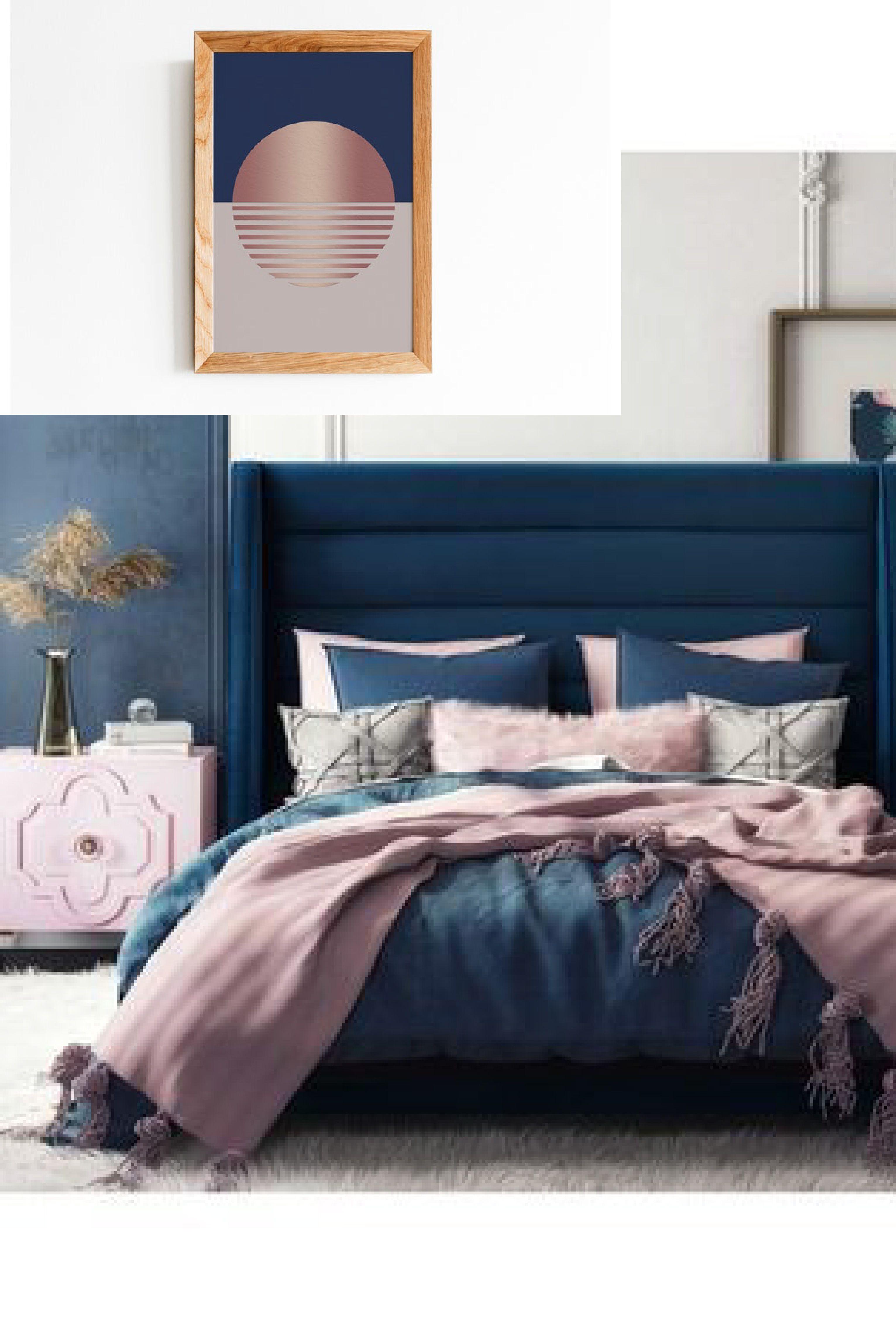 98 Quartos De Princesa Decorados E Inspiradores Blue Girls Rooms Girls Blue Bedroom Girl Room