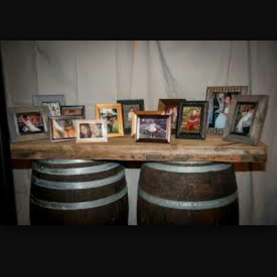 Pictures on barrels