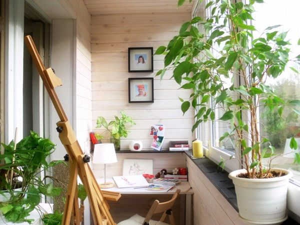 Modern Small Balcony Decoration, Design Ideas For 2014