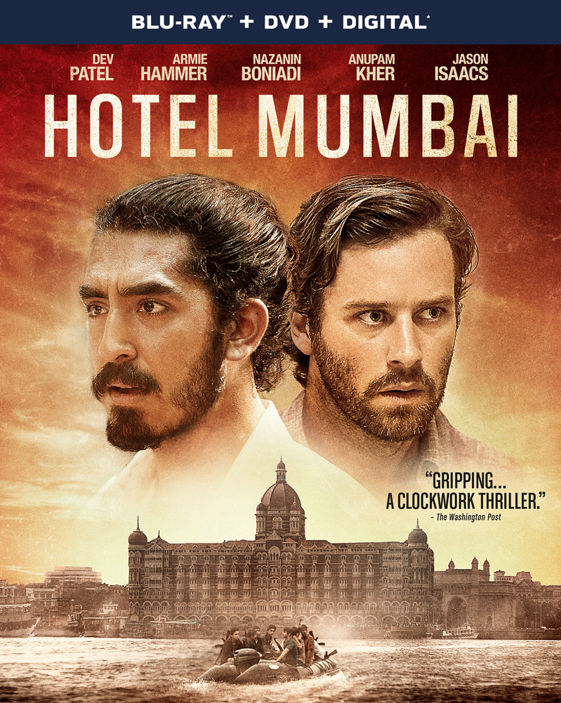 Hotel Mumbai Includes Digital Copy Blu Ray Dvd 2018 Blu