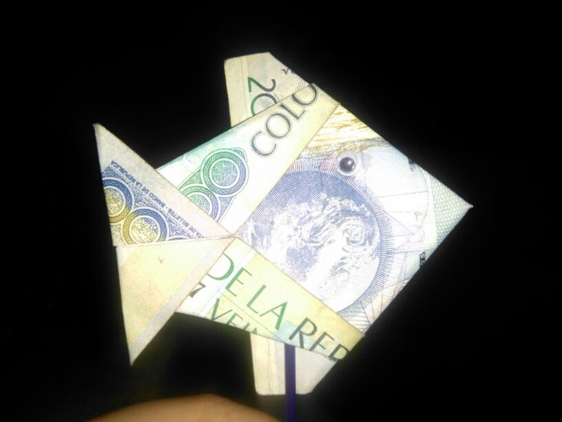 Moneygrami fish! Facilito de hacer!