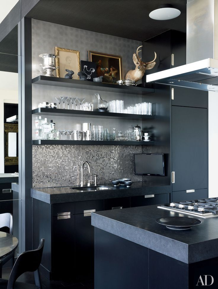 8 Bold U0026 Black Kitchen Ideas To Improve Your Style At Home