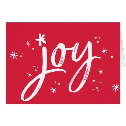 Joy modern corporate holiday greeting red sparkles card christmas joy modern corporate holiday greeting red sparkles card christmas cards merry xmas diy cyo greetings m4hsunfo