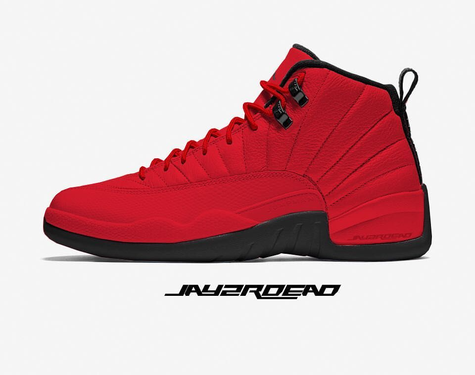 #ShofKnows Oct 2018 Air Jordan 12 Retro Gym Red/Gym Red/Black 130690