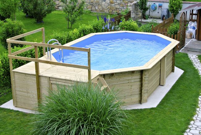 Stahlwandpool umrandung  pool selber bauen - Home Interior Design Ideas | Home Interior ...