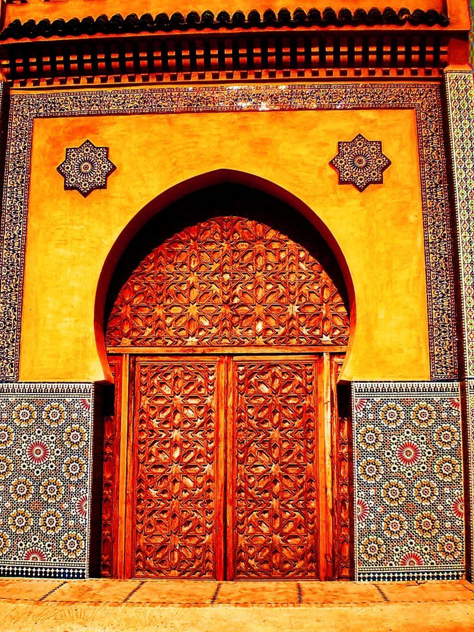 Arquitetura islâmica no Marrocos. Fotografia: baza-r.