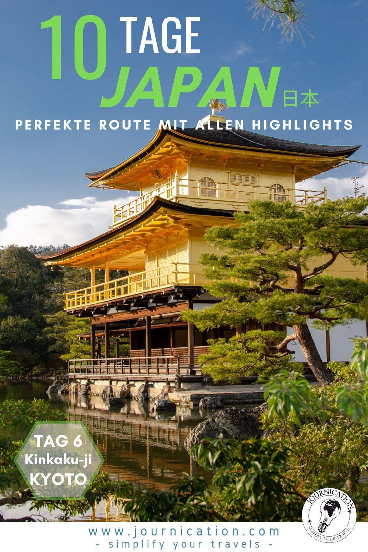 Japan 10 Tage Reiseroute Strecke Sehenswurdigkeiten Karten Highlights In 2020 Reisen Japan Reisefuhrer Rundreise