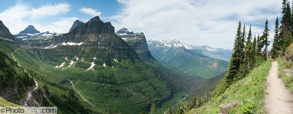 Garden Wall Glacier National Park Hike The Garden Wall Trail From