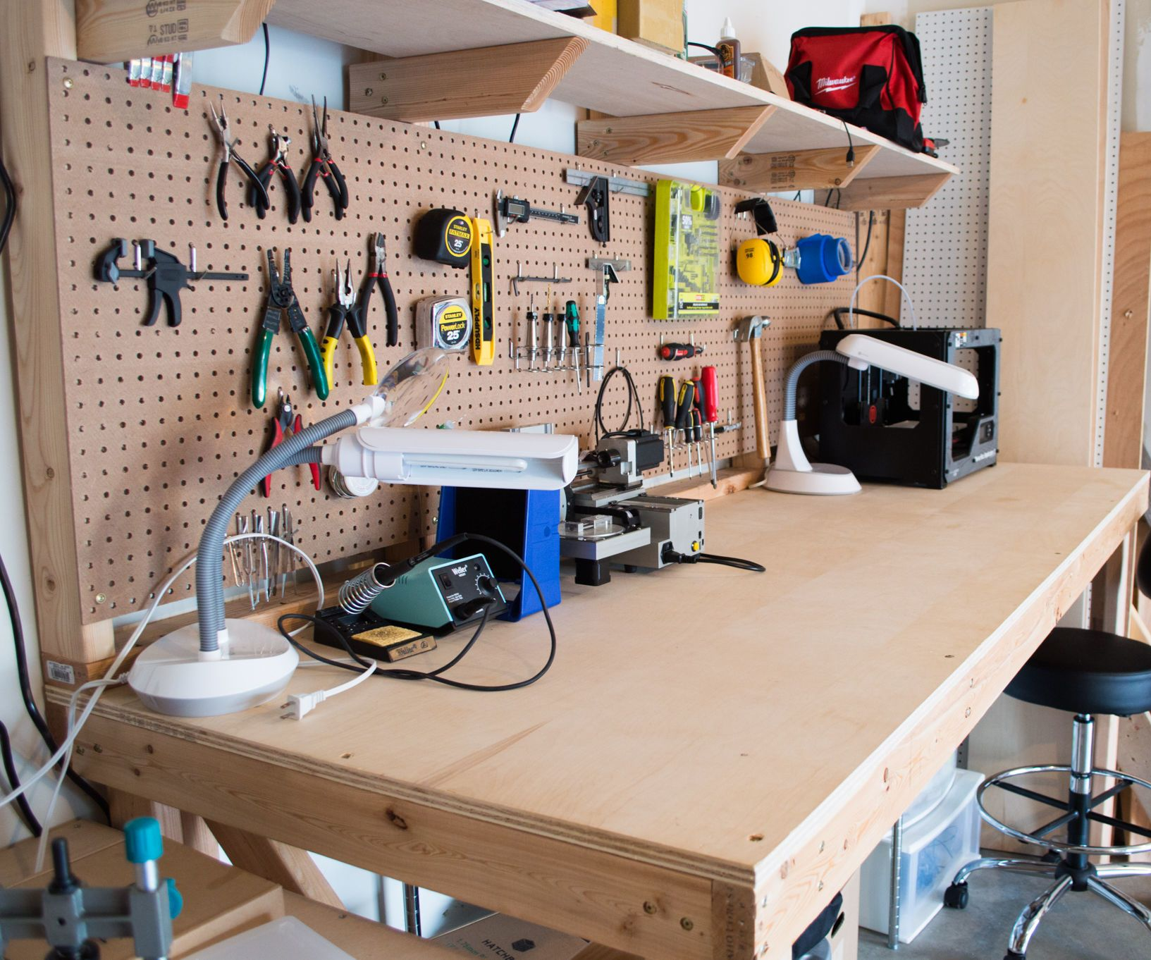 Customizable Work Bench Workbench Computer Repair Workbench Diy Desk