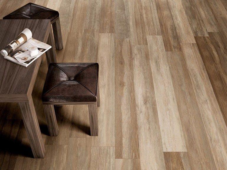 Pavimento in gres porcellanato effetto legno per interni ed esterni
