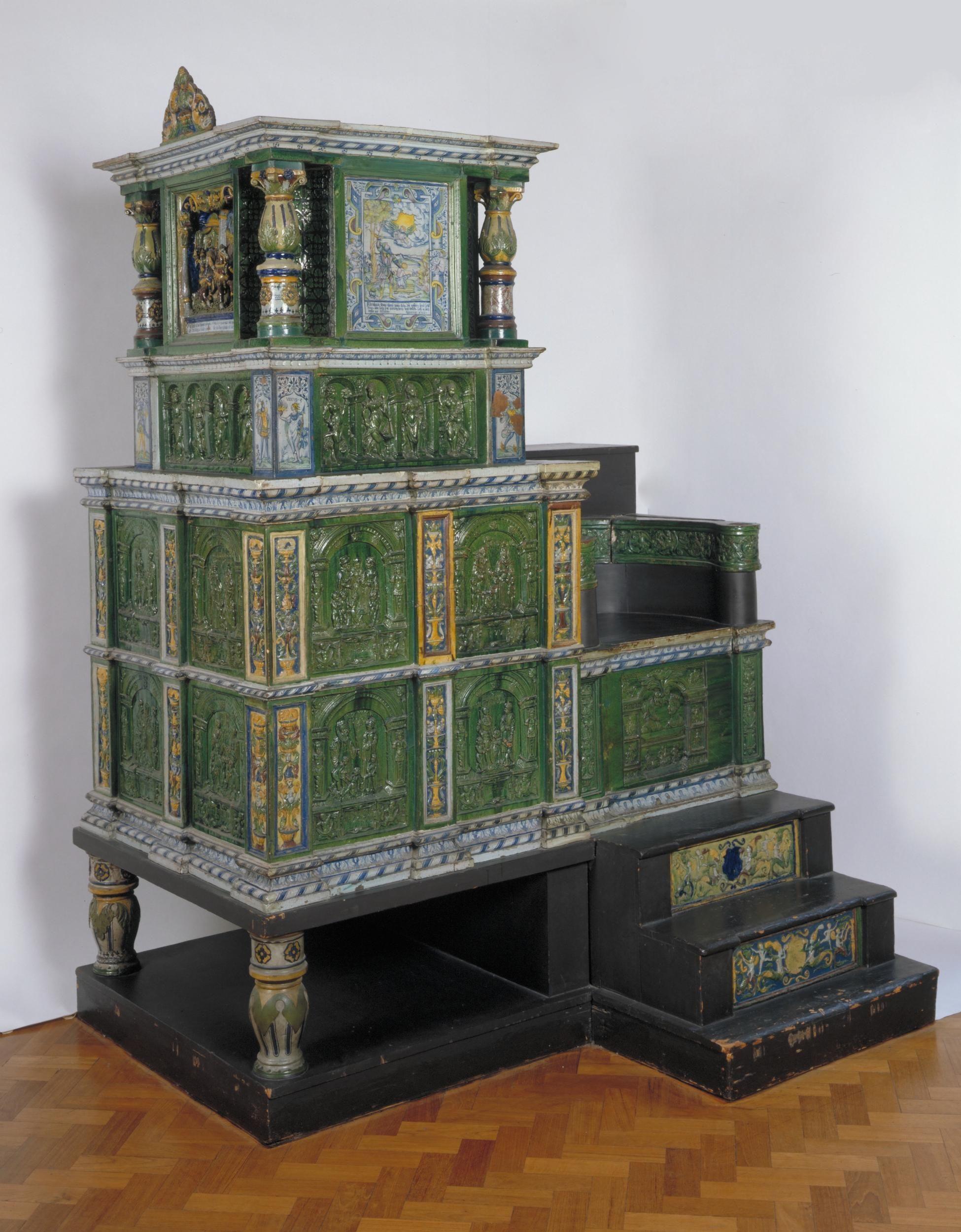 po le allemand fabriqu villengen en 1577 par hans kraut collections du v a museum londres. Black Bedroom Furniture Sets. Home Design Ideas
