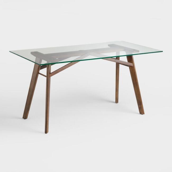 Inspired By The Innovative Tables Of Mid Century Modern Design Our Kayden Desk Showcases The Strong Li Moveis Para Espacos Pequenos Espacos Pequenos Decoracao