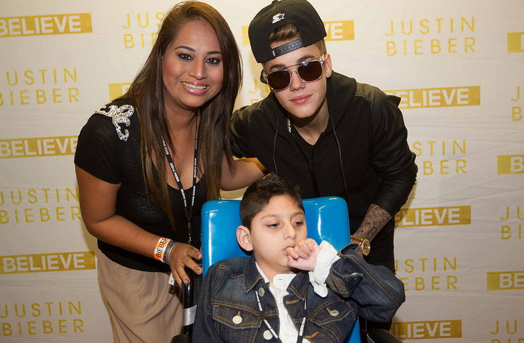 Justin bieber news on justin bieber and justin bieber pics photo of justin at his meet greet in toronto last night july 26th believe tour justin m4hsunfo