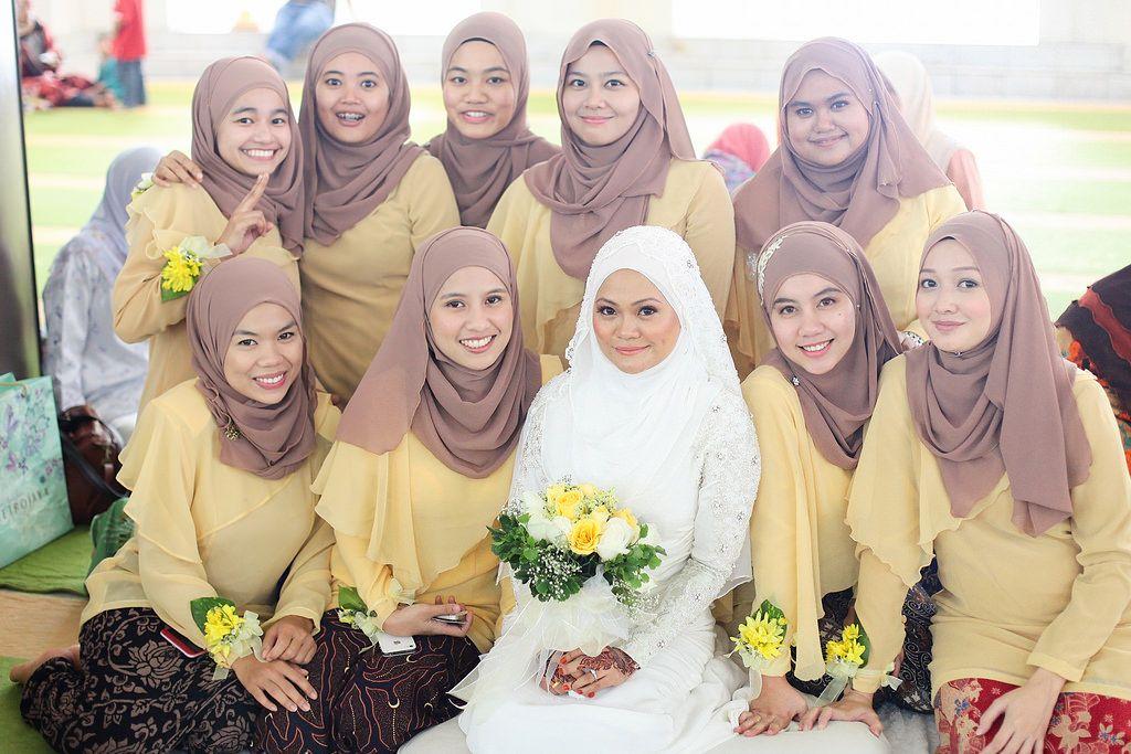 Inspirasi Baju Bridesmaid