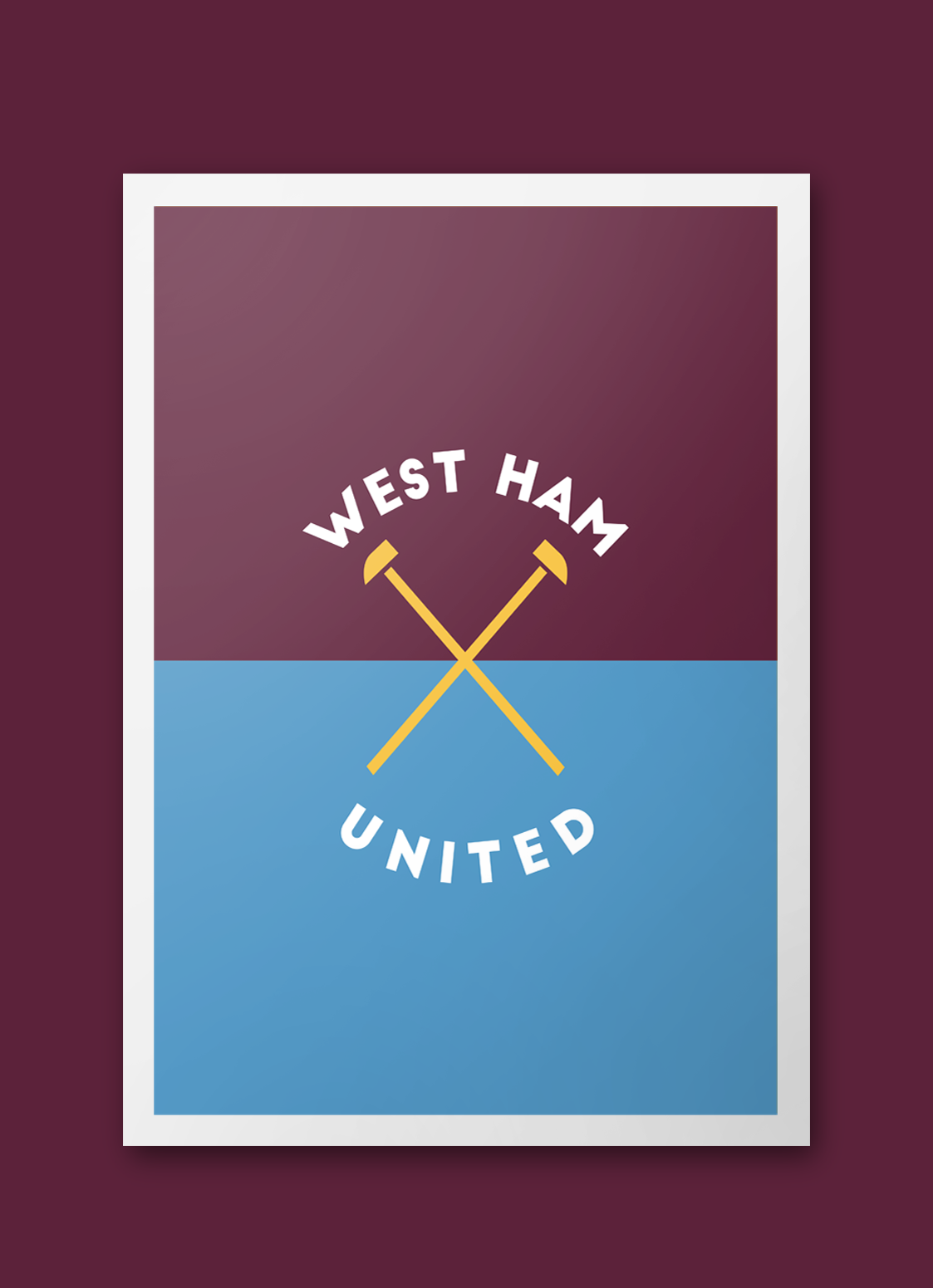 Design Football On Behance West Ham Fans West Ham United West Ham