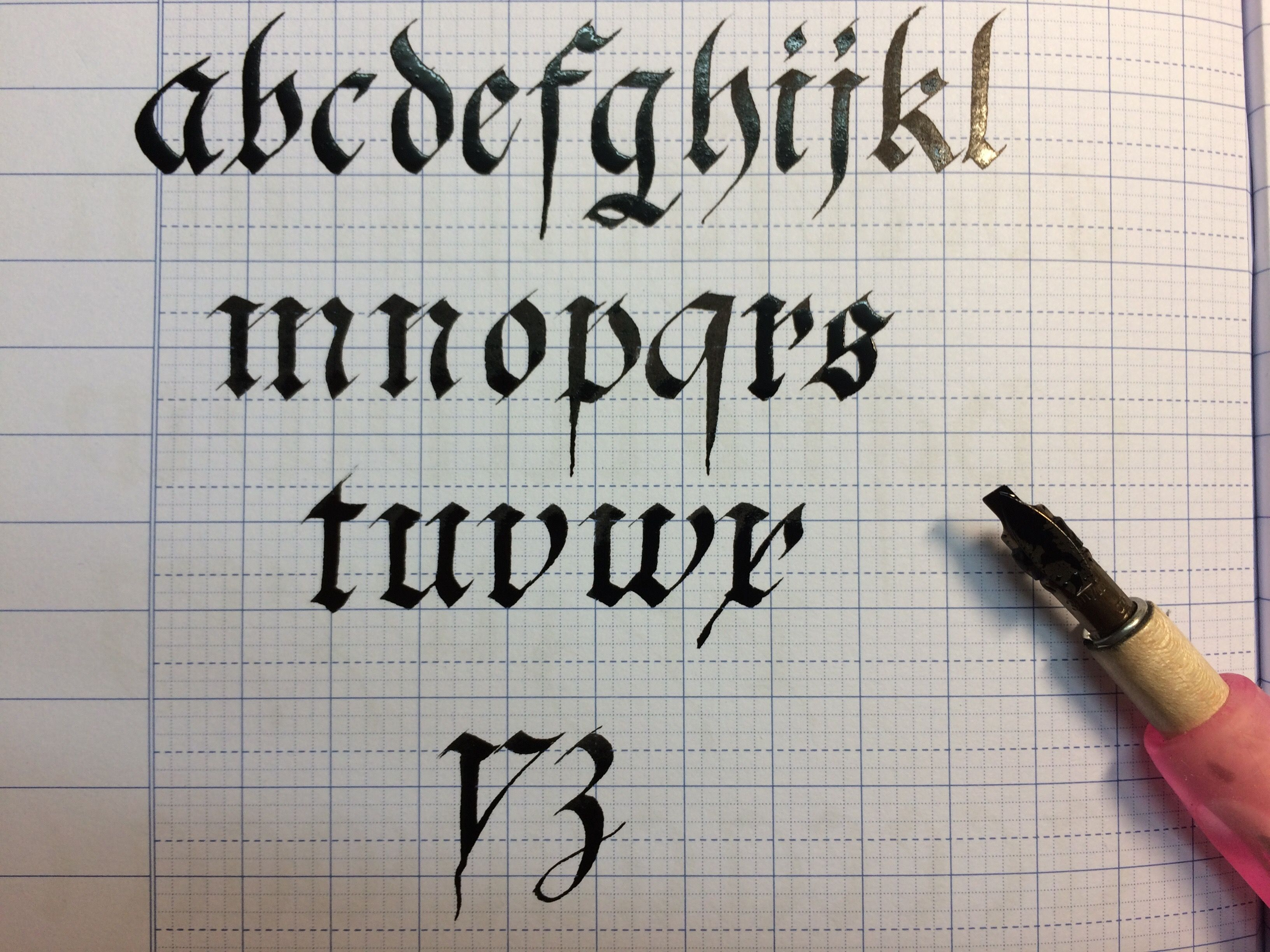 Pin On Calligraphy For Beginners Worksheets