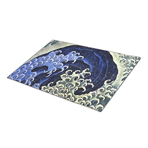Hometaste Decorative Door Mats Hokusai Feminine Wave Japanese Vintage Fine Art Doormat Designs You Can Get More De Vintage Japanese Door Decorations Door Mat