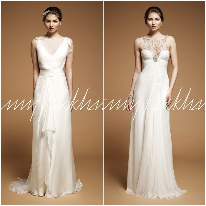 left one  vestidos de novia de Jenny Packham,