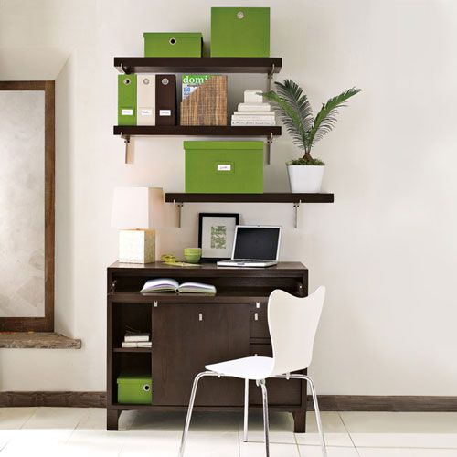 Good Questions Desk Cabinet Combo For Small Space Small Home Offices Office Nook Small Spaces