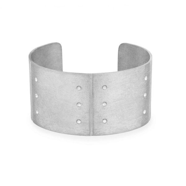 ETCHED CUFF II ($950) ❤ liked on Polyvore featuring jewelry, bracelets, sterling silver jewellery, etched jewelry, adjustable bangle, cuff bangle and sterling silver cuff bangle