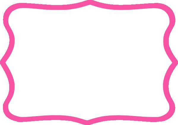 pink frame | Hot Pink Frame clip art - vector clip art online ...