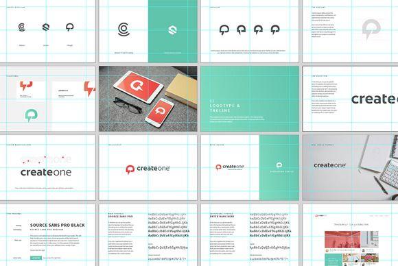 brand presentation template | design | pinterest | presentation, Powerpoint templates