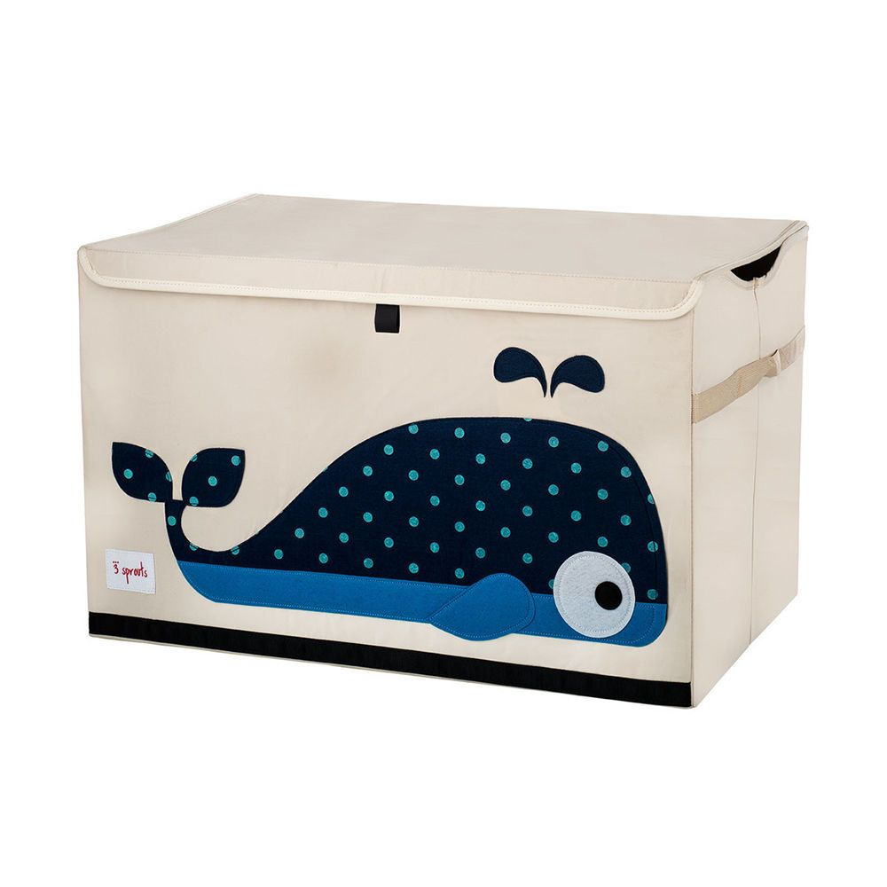 3 Sprouts Whale Toy Chest #nursery #toys #storage