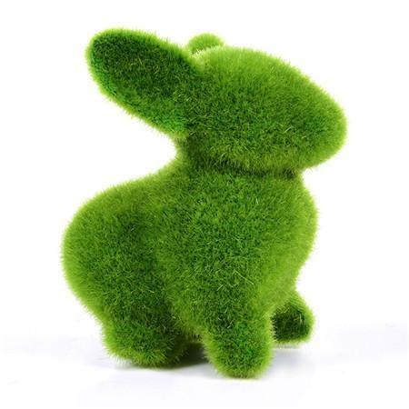 Artificial turf bunny
