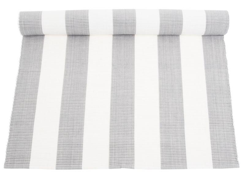 Baumwollteppich weiß  Teppich, grau-weiß gestreift, 300 cm | Teppiche E. | Pinterest ...