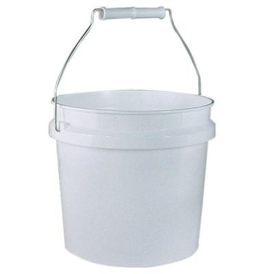 Leaktite 1 Gal White Plastic Pail Pack Of 3 209314 The Home Depot Plastic Pail Pail Paint Buckets