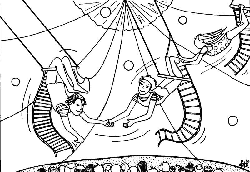 Dibujos para Colorear Circo 9   CIRC   Pinterest   Circo, Colorear y ...