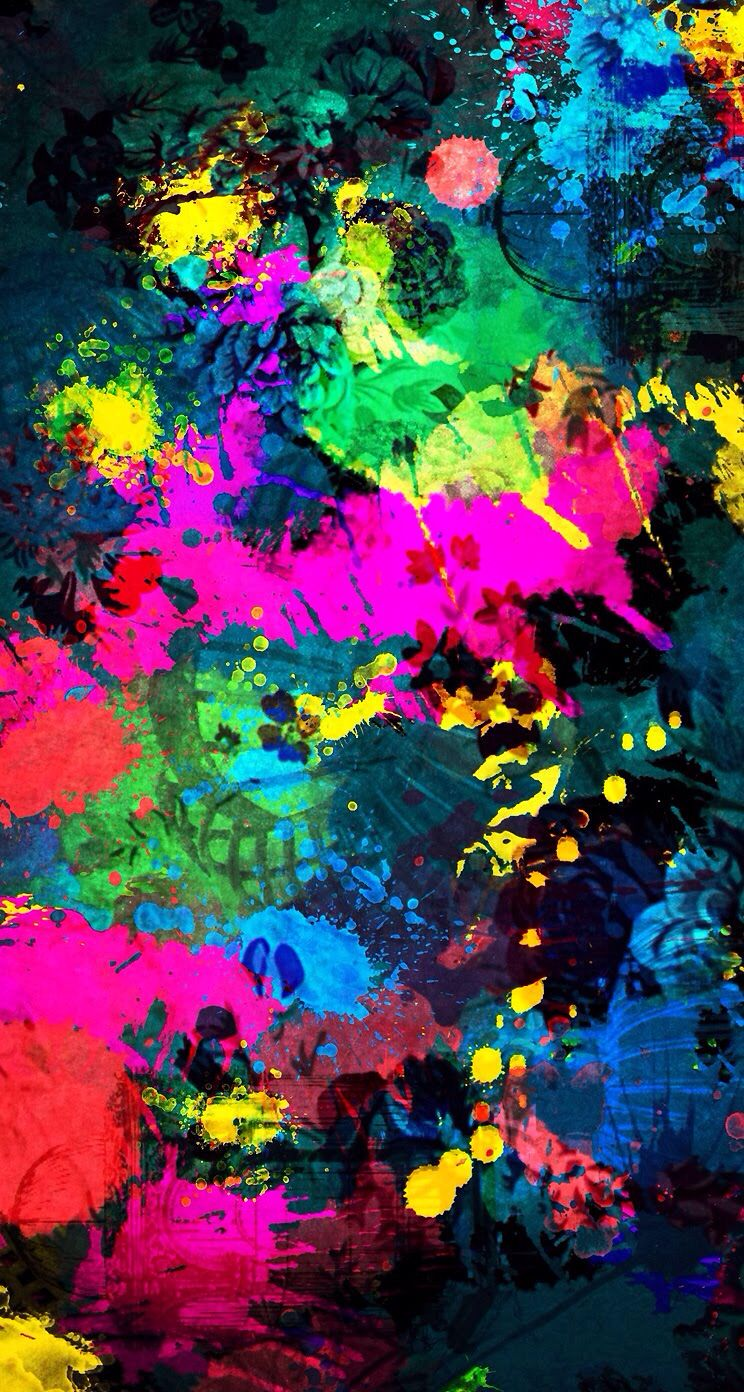 New Iphone Wallpaper Lukisan Abstrak Seni Dan Abstrak