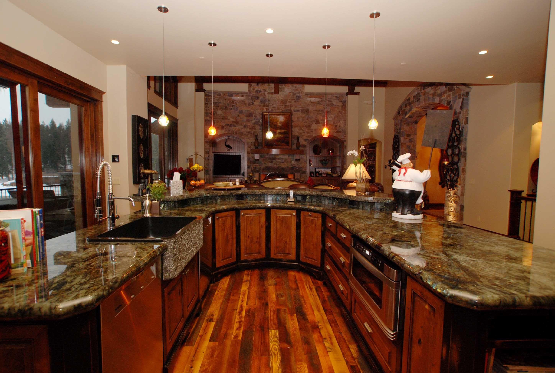 Smith Smith Kitchens: Edwards Smith CdA Lakefront Kitchen