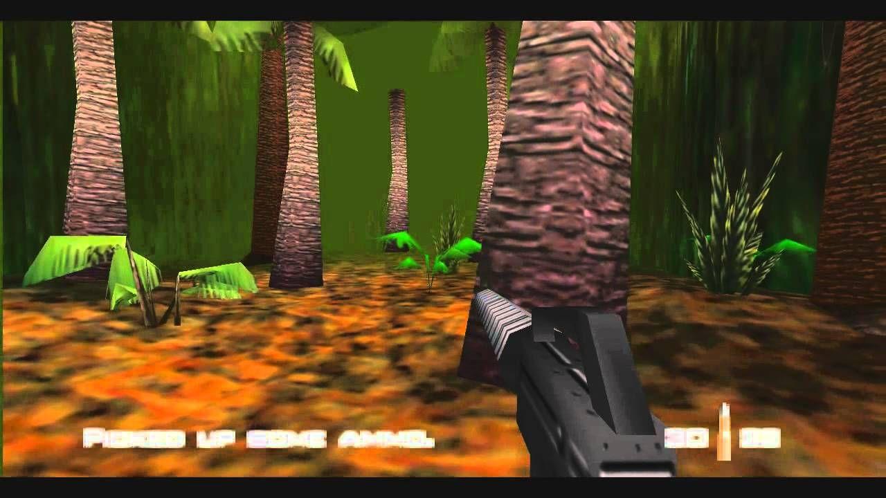 Goldeneye 007 N64 100 Walkthrough Mission 7 Part 1 Cuban