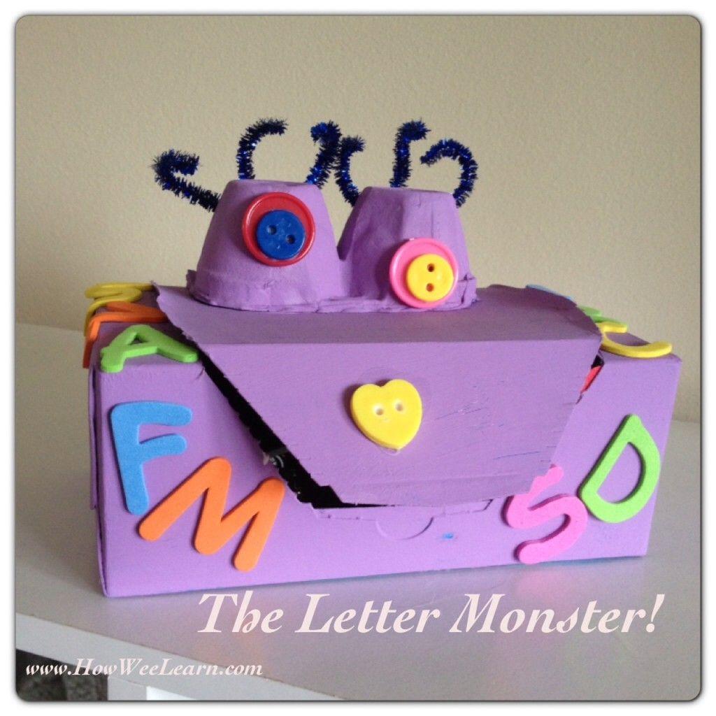 Alphabet Games For Preschoolers The Letter Monster