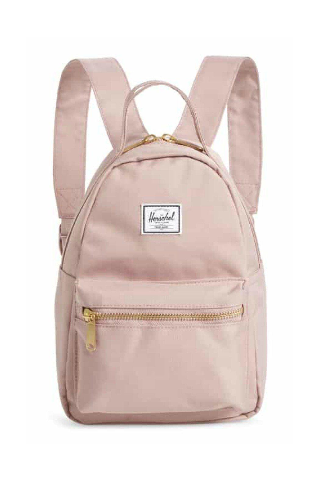 Herschel Nova Mini Backpack in Satin Ash Rose  e8fbf22416f6b