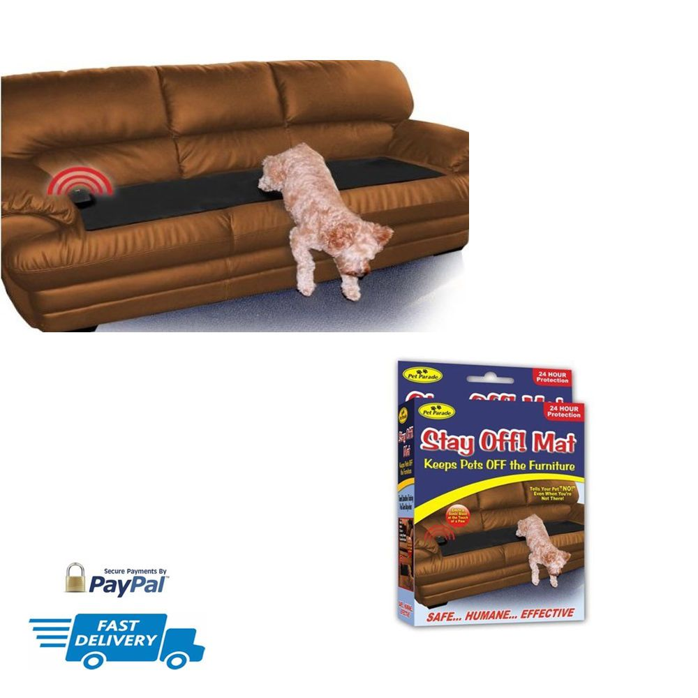Pet Repellent Mats Sofa Scram Scat Pad Pets Sonic Keep Dogs Cats Off  Furniture