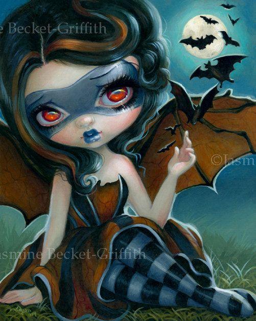 FANTASY ART PRINT Autumn Is My Last Chance Jasmine Becket-Griffith