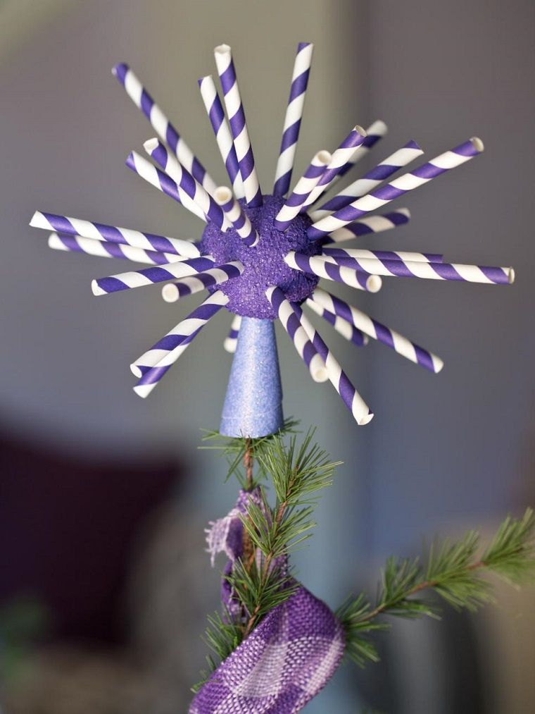 manualidades navidad originales ideas pico arbol ideas Decoración