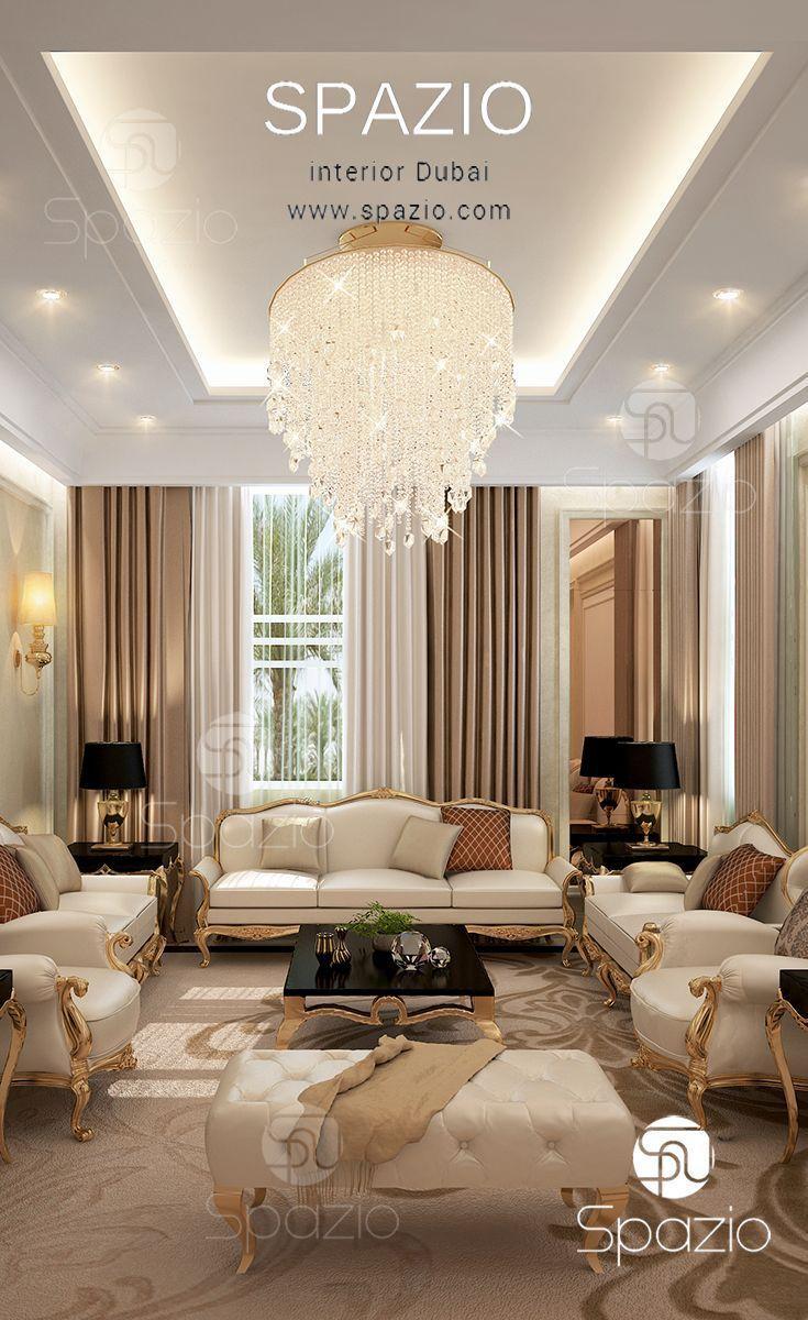 Majlis interior design in Dubai | Living rooms &Family ...